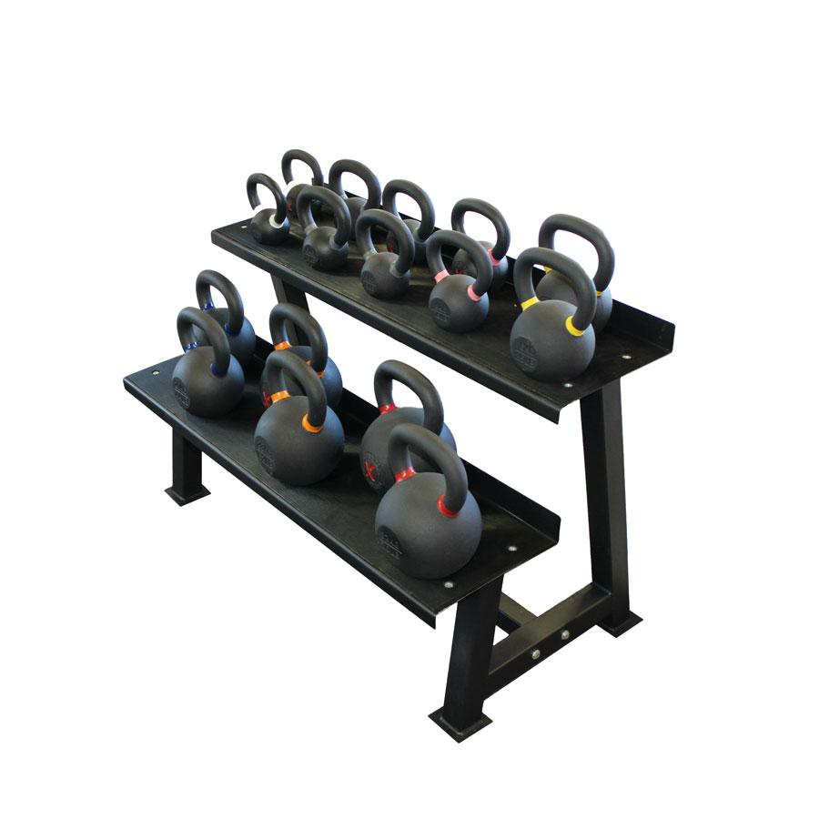 2-Tier Kettlebell Rack