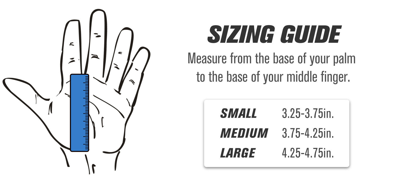 Leather Grip Sizing Guide
