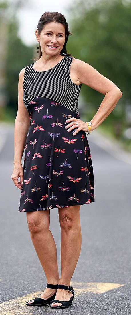Dragonfly Distraction dress
