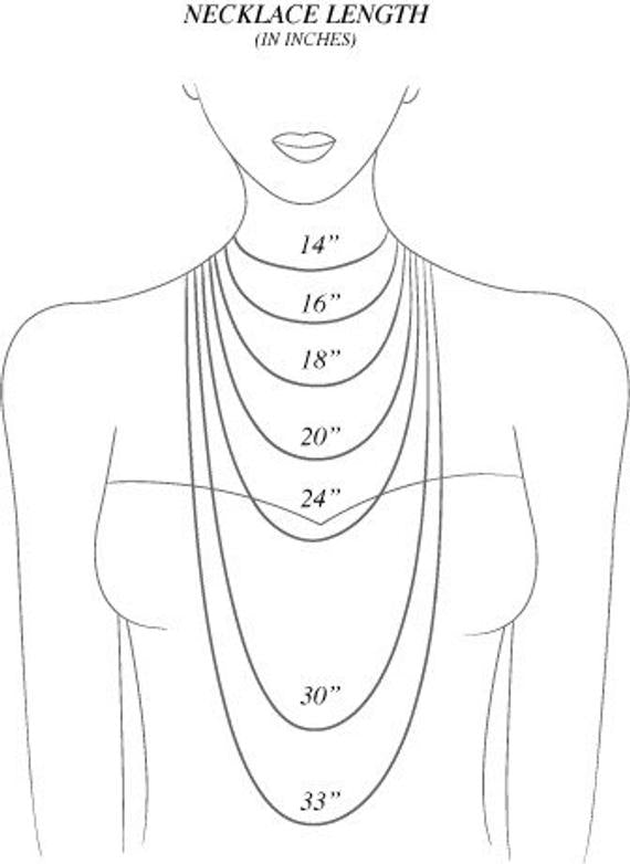 Find your necklace Size - Lula J Jewelry