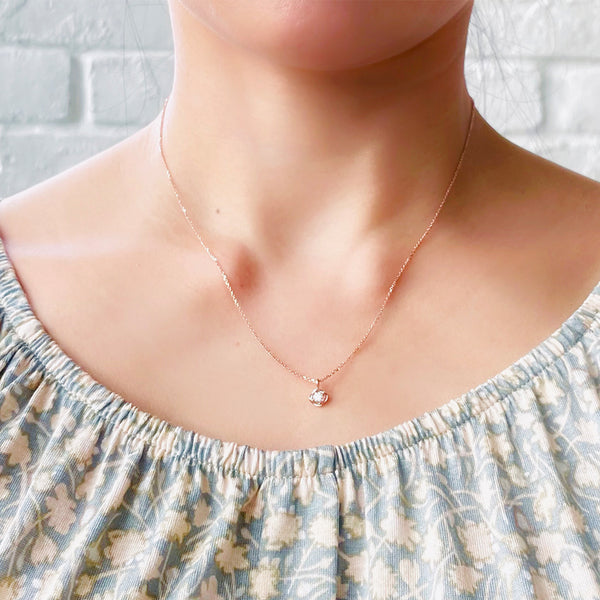 Dew Drop necklace (18k)