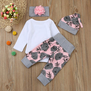 'DADDY'S PRINCESS' 4-PIECE OUTFIT SET