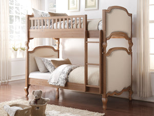 Twin Over Twin Cream Elegant Bunk
