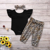BABY GIRLS CHEETAH PRINT 3-PIECE SET