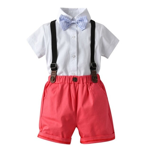 LITTLE GENT BOYS BABY BLUE SET
