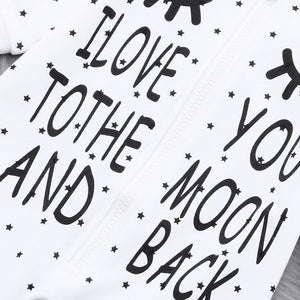 MOON AND BACK BABY BOYS ONESIE