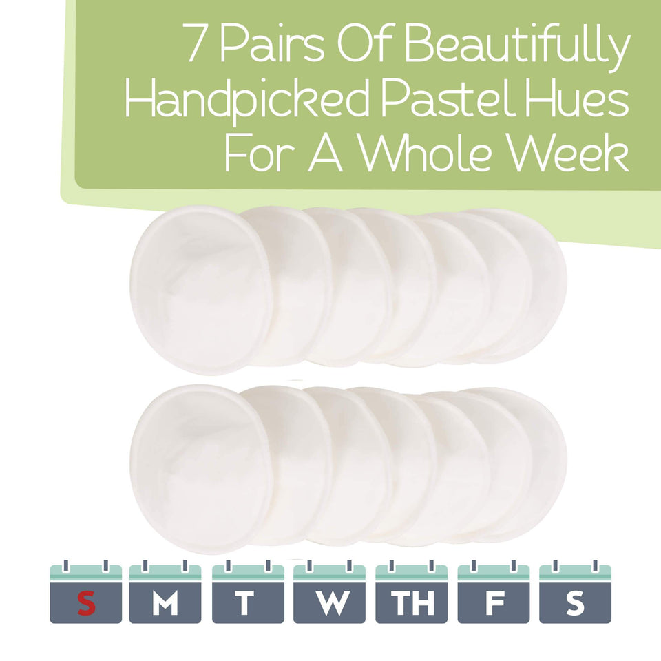 Organic Nursing Pads For Breastfeeding - Noma Moma