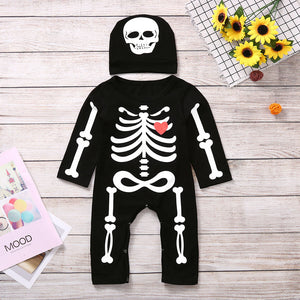 Baby Skeleton Onesie with hat