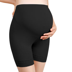 MATERNITY SUPERSOFT MID-THIGH SHAPEWEAR SHORTS