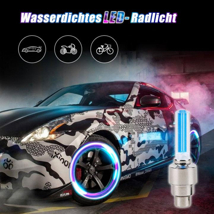 Wasserdichte LED-Radlichter(A set of 2)