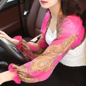 Ultralight Breathable Sunproof Sleeve Shawl