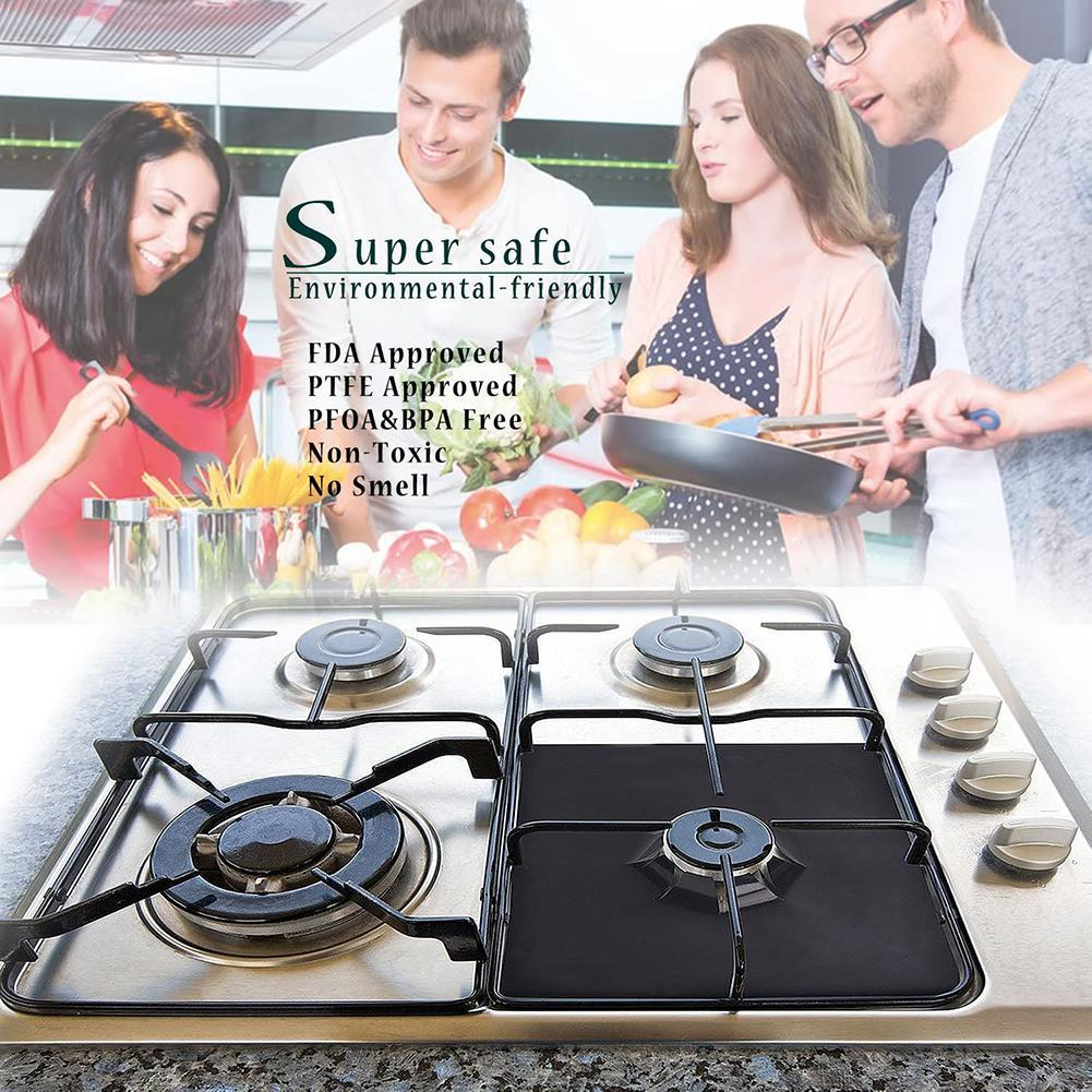 Stove Protector Liner (4PCS is more favorable)
