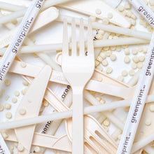 Load image into Gallery viewer, 100% Biodegradable Cassava Cutlery Sets (1,000 pieces)