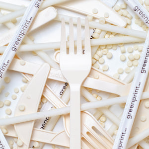100% Biodegradable Cassava Cutlery Sets (1,000 pieces)