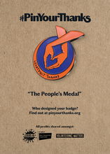 Load image into Gallery viewer, The Original 'People's Medal'