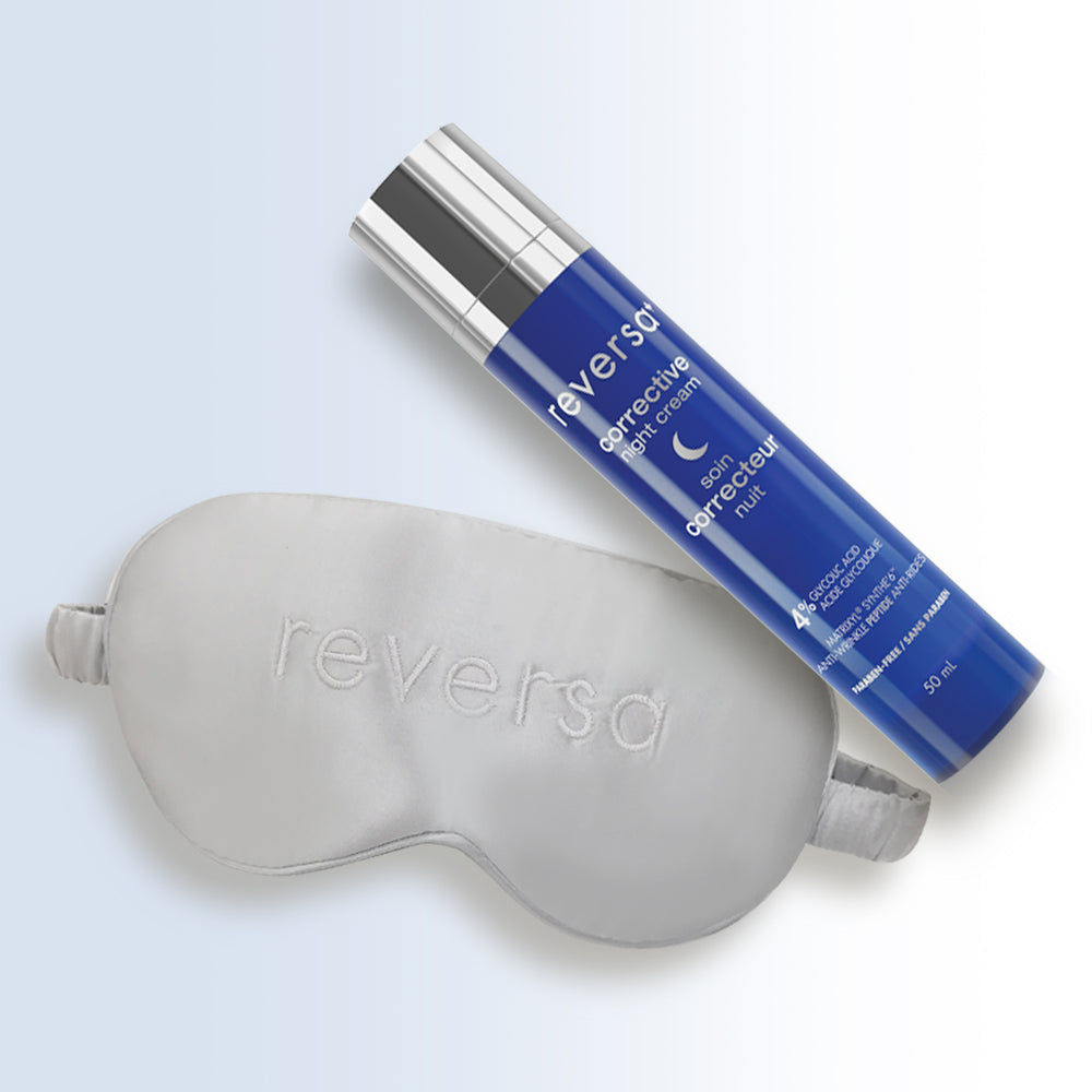 Corrective Night Cream and Free Sleep Mask