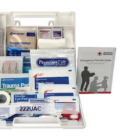 First Aid Only 10-Person Bulk First Aid Kit with Dividers