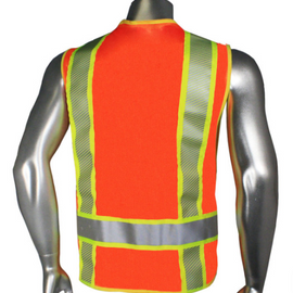 Radians Breakaway Vest Class 2 ANSI/ISEA 107-2015 - Zip n Rip Closure - Please Choose Color and Size