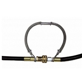 "Air Systems Whip Check Safety Cable Hose to Hose 20"" Length ASWHIPLINE"