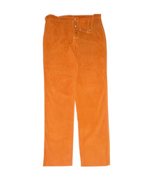 Chicago Protective Apparel Rust Split Leather Pants - Please Choose Size