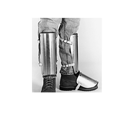 Ellwood Aluminum Alloy Shin-Instep Guard Fastened with Web Straps