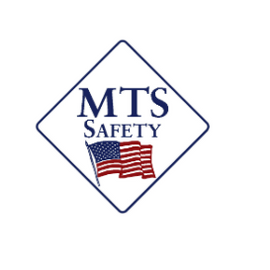 "MTS Safety ""Stop/Slow"" Plastic Reflective, 12"" PVC Handle"