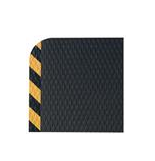 M + A Hog Heaven Anti-Fatigue Mat, 3' x 5', black/yellow