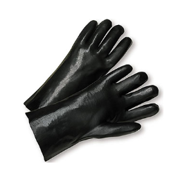 "West Chester PIP 18"" PVC Dipped Glove with Interlock Liner and Rough Finish - per dozen"