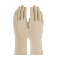 West Chester PosiShield™ Disposable Latex Glove, Powder Free with Textured Grip - 7 mil - price per box (100)