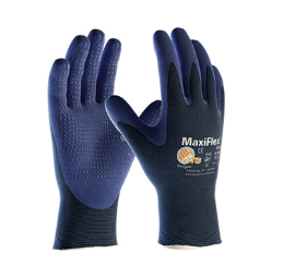 West Chester MaxiFlex Elite Ultra Lite Weight Seamless Nylon Glove with Nitrile Coated MicroFoam Grip on Palms & Fingers