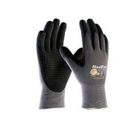 West Chester MaxiFlex Endurance Seamless Knit Nylon Glove with Nitrile Coated MicroFoam Grip on Palm & Fingers