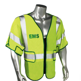 Radians Class 3 Adjustable Breakaway Safety Vest for Police, Fire or EMS - Please Choose Variation