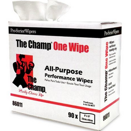 Mercantile Development Inc Wiper, The Champ Pop-Up Heavy Duty Wipe