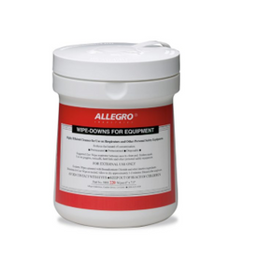 Allegro Wipe Downs for Equipment - Pop Up Canister (220/Ct.)