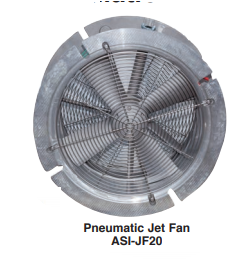 Air Systems Pneumatic Jet Fan