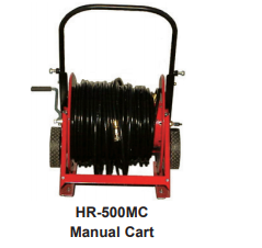 Air Systems Hose Reel Cart - Automatic or Manual Rewind