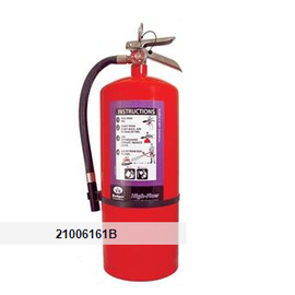 Badger™ Extra-High Flow 20 lb Purple K Extinguisher w/ Wall Hook
