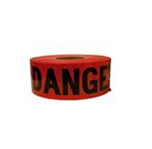 "TruForce Tape ""Danger"", Red/Black, 3"" x 1000' roll"