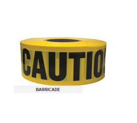 "TruForce Tape ""Caution"" Yellow/Black, 3"" x 1000'"