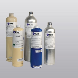 RAE Calibration gas Carbon Dioxide (CO2) 34 Liter Steel Cylinder (5000ppm CO2, Balanced N2) (H1013500PN)