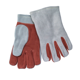 "Chicago Protective Apparel 11"" Leather Heat Resistant Glove, 1 Ply - Price per pair"