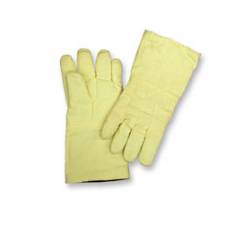 "Chicago Protective Apparel 14"" High Heat Glove, Wool Lined, 8 oz Kevlar Twill - Price per pair"