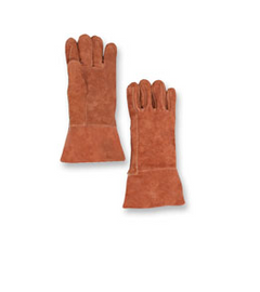 "Chicago Protective Apparel 14"" High Heat Glove, Wool Lined, Thermal Leather - Price per pair"