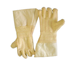 "Chicago Protective Apparel 18"" High Heat Glove, Wool Lined, 22 oz Kevlar Terry - Price per pair"
