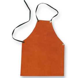Chicago Protective Apparel Domestic Rust or Grey Split Leather Apron - Please Choose Size