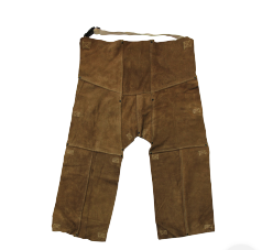 Chicago Protective Apparel Rust Split Leather Cowboy Style Chaps - Please Choose Size