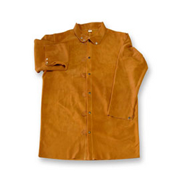 Copy of Chicago Protective Apparel Domestic Rust Split Leather Jacket - Please Choose Size