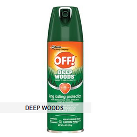 SC Johnson OFF!® Deep Woods Insect Repellent, 6 oz Aerosol