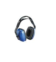 Honeywell Howard Leight Viking V2 Earmuffs - Noise Blocking, NRR 27, Blue/Black