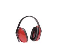 Honeywell Howard Leight QM24+ Earmuffs - NRR 25, Red/Black